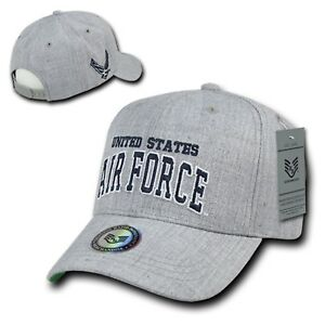 24214a93be2 USAF United States US Air Force Wings Logo Military Wool Baseball ...
