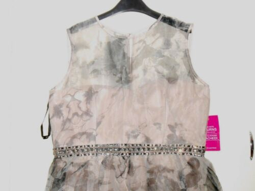 18 £ 70 Prom Size Rrp Mistress Floral Organza Dress B 12 Box85 Little ngwCYqxz