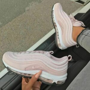 d850d5728 Nike Air Max 97 Womens Trainers Barely Rose 921733-600 Size 10 US 42 ...