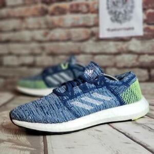 Adidas-Pureboost-Go-Legend-Marine-Men-039-s-Size-10-5-Running-Shoes-B37804-NEW