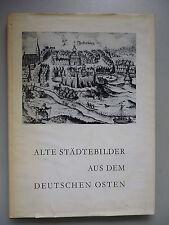 Alte Städtebilder aus dem Deutschen Osten 1959