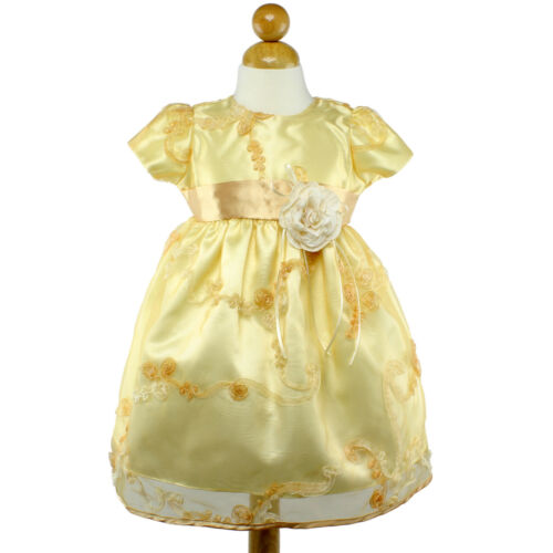Baby Toddler Pageant Wedding Pageant Flower Girl Recital Birthday Dress S M L XL