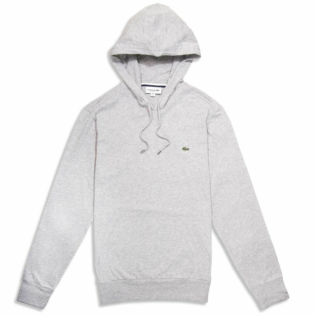Herren Lacoste Hoodie Grau Pullover TH9349 2018 Collection NEW