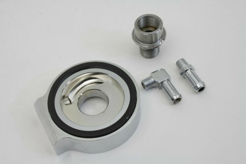 SANDWICH TYPE OIL FILTER ADAPTER FOR OIL COOLERS FITS HARLEY BIG TWINS 1992-99