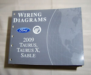 2009 Ford Taurus Mercury Sable Wiring Diagram Dealer ...