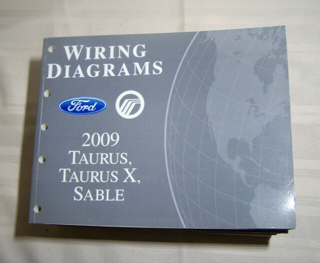 2009 Ford Taurus Mercury Sable Wiring Diagram Dealer