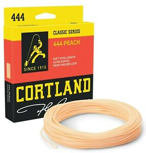 Cortland-444-Peach-Weight-Forward-Fly-Line-ALL-SIZES-FREE-FAST-SHIPPING