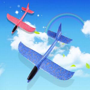 Espuma-mano-tiro-avion-lanzamiento-al-aire-libre-planeador-ninos-juguete-regaloK