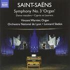 "Saint-Sa‰ns: Symphony No. 3 ""Organ""; Danse macabre; CyprŠs et Lauriers (CD, Jan-2015, Naxos (Distributor))"