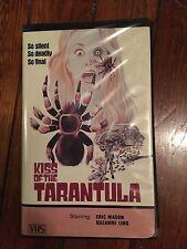 Kiss of the Tarantula MPI Clam Shell Horror VHS Gorgon Video Rare