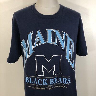 America Mens NCAA University of Maine Black Bears Shirt NWT M XL 2XL L J