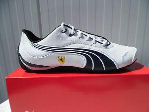 PUMA-Drift-Cat-III-Weiss-talla-42-5-ferrari-LT-zapatos-caballero-zapatos-casual-zapatillas-nuevo