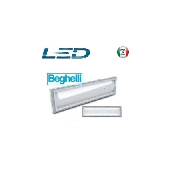 LAMPADA EMERGENZA BEGHELLI LED 8584 18W IP42 32LED