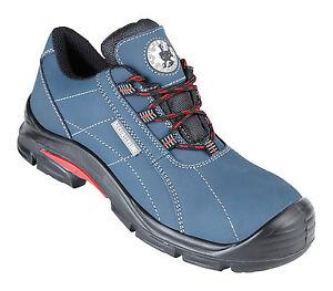 Línea de seguridad Tucan 4210 Talla 7 azul libre de metal Compuesto Puntera De Seguridad Zapatillas