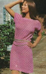 Ladies-Crochet-Dress-Pattern-34-38-034-Double-Knitting-118