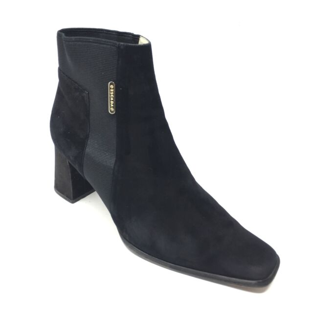 Senso Shoes Black Rex Platform Ankle
