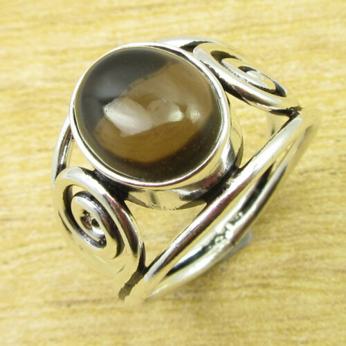 925 Silver Plated BLUE TOPAZ GLASS /& Other Gemstone FASHION Ring Jewelry NEW