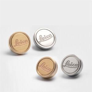 Leica M2 M3 M6 M8 Camera Shutter Release Button Steel Brass Metal Keys 12mm New