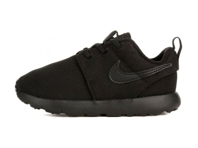 ccfe769a8ce51 Nike Roshe One Toddlers 749430-031 Black Mesh Athletic Shoes Baby ...