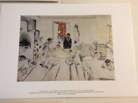 1993 Marc Chagall Baby Carriage Indoors Poster Print