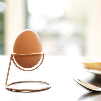 NEW Minimalist Egg Cup Yolk in Black or Copper by The Design Gift Shop