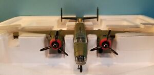 "ARMOUR #98179 USAAF B-25D ""TONDELAYO"" 1:48 SCALE DIECAST METAL MODEL"