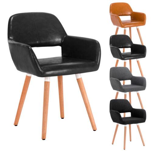 Stuhl Esszimmerstuhl Küchenstuhl Retro Lehnstuhl mit Arm und Rückenlehne #800