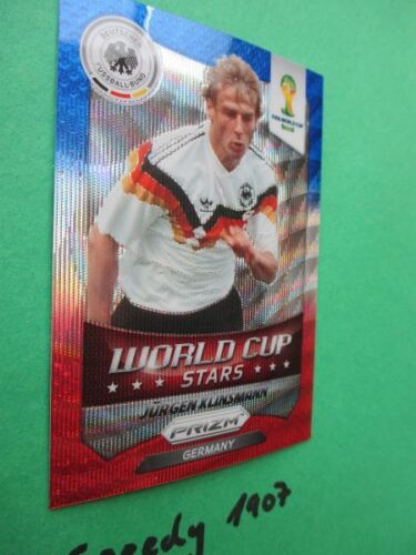 Panini PRIZM World Cup Stars Blue white red Klinsmann FIFA World Cup 2014