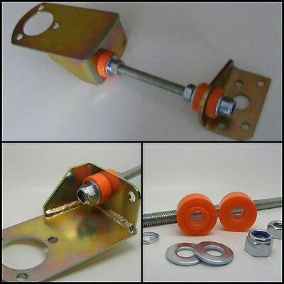 Classic Mini Ultimate Motore costante per 998 CARB Inc Arancione Polyflex UK Bush Kit