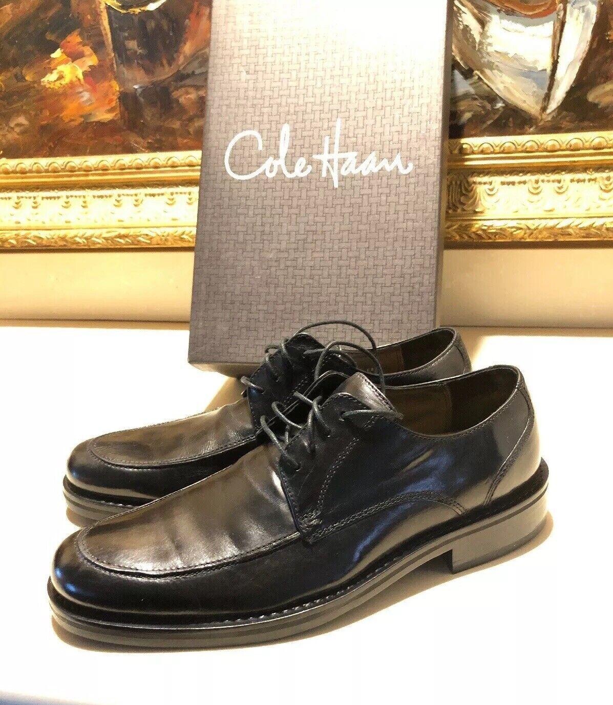 Cole Haan Aire Donovan Delantal-TOE NEGRO Zapato de vestir para Hombres Oxford