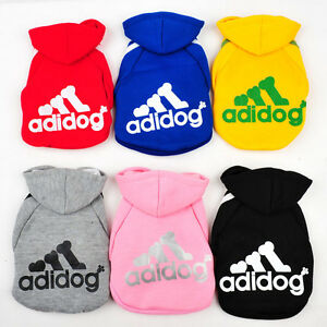 Adidog-Dog-Puppy-Small-Breed-Sweater-Hoodie-Jumper-Clothing-Jacket-New-Fashion