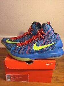41d9cebede95 Image is loading Nike-KD-5-Christmas-Size-9-5-Kevin-