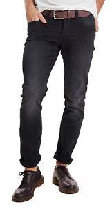 hochwertiges Design 405a7 6b582 Details zu ONLY & SONS Jeans New Mens Loom Slim Fit Narrow Leg Jog Denim  Pants Black Faded