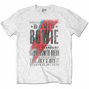 David-Bowie-Hammersmith-Odeon-Official-Merchandise-T-Shirt-M-L-XL-Neu