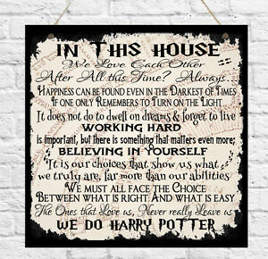 Harry Potter S New Home