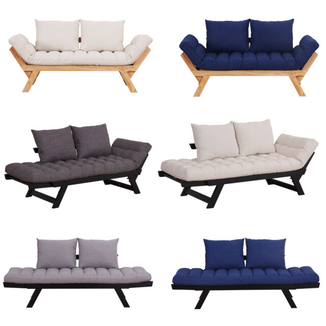 Pleasing Convertible Sofa Bed Sleeper Couch Chaise Lounge Chair Adjustable Padded Pillow Onthecornerstone Fun Painted Chair Ideas Images Onthecornerstoneorg
