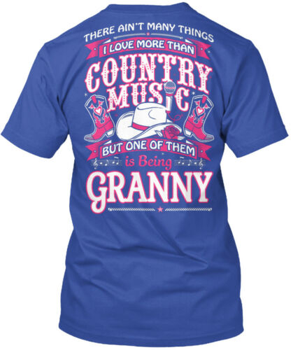 I Love Country Music And Being Granny Na There Ain/'t Standard Unisex T-shirt
