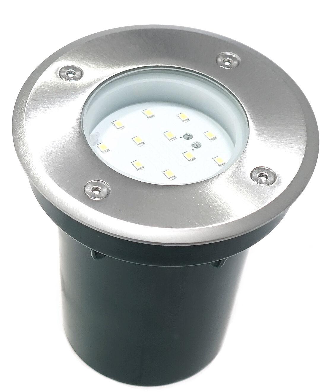 Begehbarer LED Bodeneinbaustrahler Gordo Aussenbereich 105 mm, IP67     | Angenehmes Gefühl  | Neue Produkte im Jahr 2019  | Outlet Online