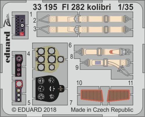 Eduard Zoom 33195 1//35 Flettner Fl-282V-6//Fl-282V-21 Kolibri Mini Art !