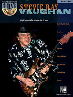 Stevie Ray Vaughan Guitar Play Along 8 Songs Tab Book Cd