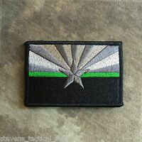 Subdued Thin Green Line Arizona State Flag Patch, Border Patrol, Game Wardens