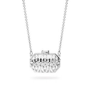 Rosato-Icone-collana-in-argento-925-con-pendente-a-forma-di-borsa-traforata-IC27