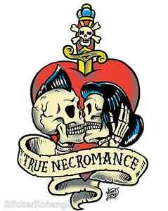 Mini-Size-True-Necromance-Sticker-Decal-Artist-Vince-Ray-VR16B
