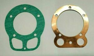 ROYAL-ENFIELD-350cc-CYLINDER-COPPER-HEAD-amp-BARREL-GASKET-SET-BRAND-NEW