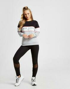 New-Pink-Soda-Sport-Women-s-Suki-Mesh-Leggings