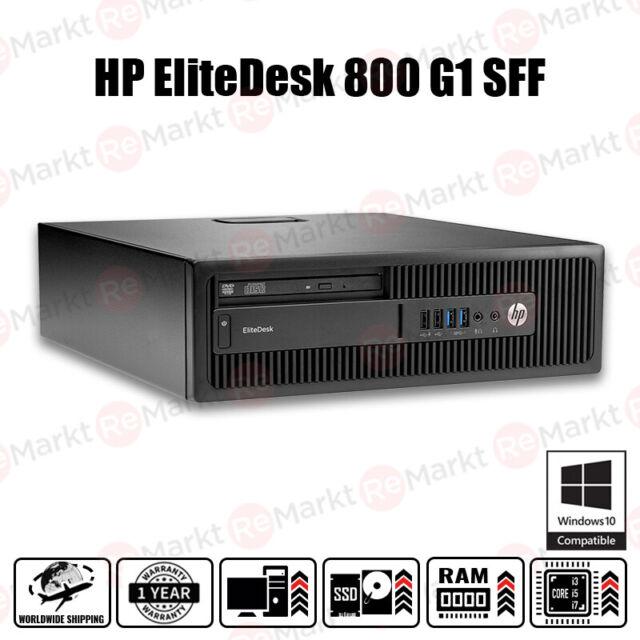 HP EliteDesk 800 G1 SFF PC Bare Bones Build - Konfigurieren Sie Ihren PC