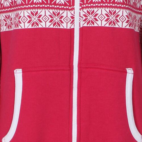 Le donne signore xams Plus Size nel complesso elegante Natale Pigiama Tuta fiocco di neve