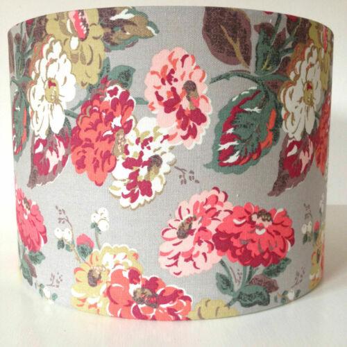 Lampshade Laura Ashley Dark Linen Gingham Table Floor Ceiling HANDMADE