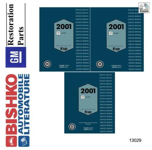 2001 Cadillac Deville Shop Service Repair Manual CD Anleitungen ...