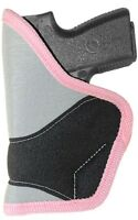 Ruger Lcr 38 2 Pocket Holster Purse Conceal Carry Waistband Ladies Rebel Pink